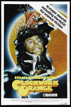 A Clockwork Orange - 11 x 17 Movie Poster - Style F