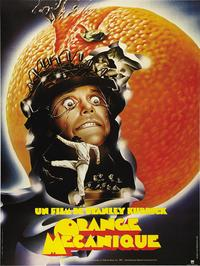A Clockwork Orange - 43 x 62 Movie Poster - French Style A