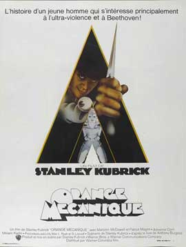 A Clockwork Orange - 27 x 40 Movie Poster - French Style B