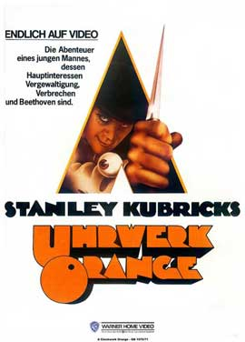 A Clockwork Orange - 11 x 17 Movie Poster - German Style B
