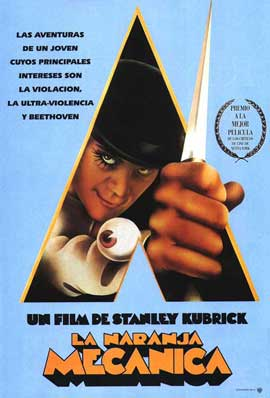 A Clockwork Orange - 11 x 17 Movie Poster - Spanish Style B