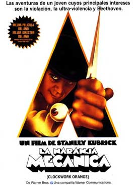 A Clockwork Orange - 27 x 40 Movie Poster - Spanish Style B