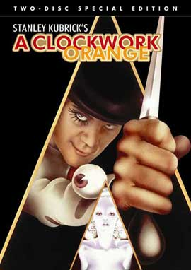 A Clockwork Orange - 27 x 40 Movie Poster - Style D