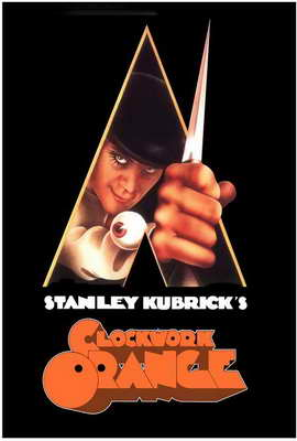 A Clockwork Orange - 27 x 40 Movie Poster - Style E