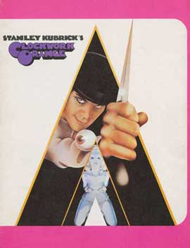 A Clockwork Orange - 11 x 17 Movie Poster - Style J