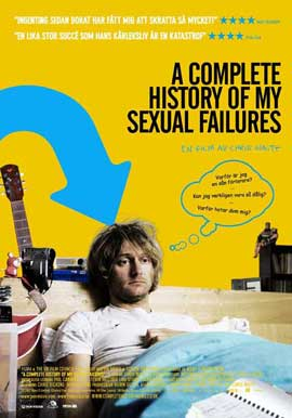 A Complete History of My Sexual Failures - 11 x 17 Movie Poster - Swedish Style A