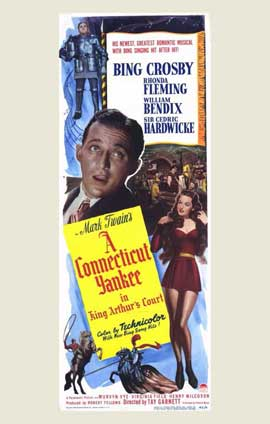 A Connecticut Yankee in King Arthur's Court - 11 x 17 Movie Poster - Style A