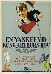 A Connecticut Yankee - 43 x 62 Movie Poster - Swedish Style A
