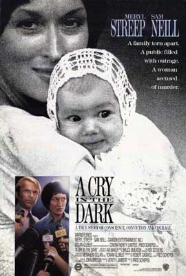 A Cry in the Dark - 27 x 40 Movie Poster - Style A