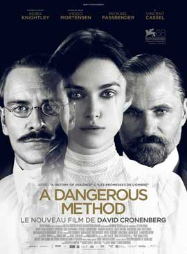 A Dangerous Method - 27 x 40 Movie Poster - French Style A
