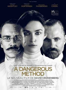 A Dangerous Method - 43 x 62 Movie Poster - French Style A