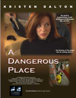A Dangerous Place - 43 x 62 Movie Poster - Bus Shelter Style A