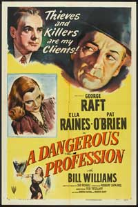 A Dangerous Profession - 11 x 17 Movie Poster - Style A