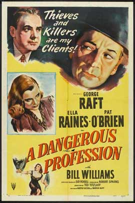 A Dangerous Profession - 27 x 40 Movie Poster - Style A