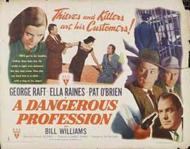 A Dangerous Profession - 22 x 28 Movie Poster - Half Sheet Style A