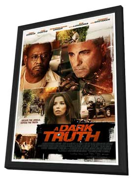 A Dark Truth - 11 x 17 Movie Poster - Style A - in Deluxe Wood Frame