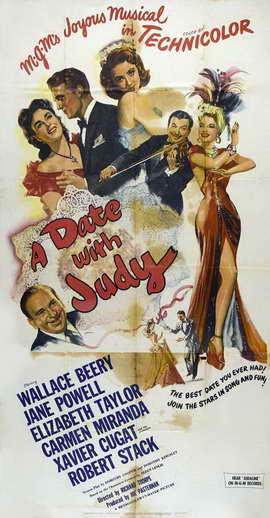 A Date With Judy - 20 x 40 Movie Poster - Style A