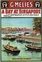 A Day at Singapore - 27 x 40 Movie Poster - Style A