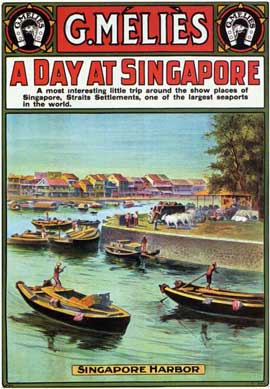 A Day at Singapore - 11 x 17 Movie Poster - Style A