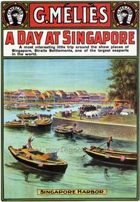 A Day at Singapore - 43 x 62 Movie Poster - Bus Shelter Style A