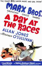 A Day at the Races - 11 x 17 Movie Poster - Style A
