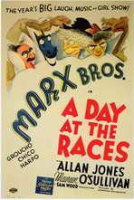 A Day at the Races - 11 x 17 Movie Poster - Style C