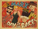 A Day at the Races - 30 x 40 Movie Poster - Style A