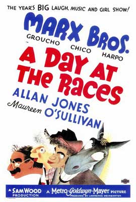 A Day at the Races - 27 x 40 Movie Poster - Style A