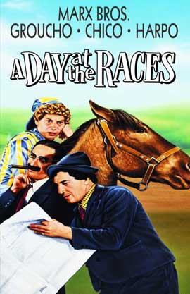 A Day at the Races - 11 x 17 Movie Poster - Style E