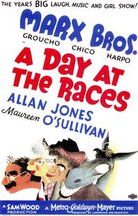 A Day at the Races - 43 x 62 Movie Poster - Bus Shelter Style A