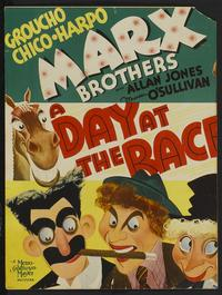 A Day at the Races - 11 x 17 Movie Poster - Style F