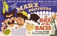 A Day at the Races - 40 x 60 Movie Poster - Style A
