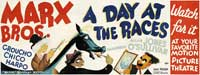 A Day at the Races - 20 x 60 - Door Movie Poster - Style A