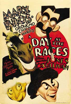 A Day at the Races - 11 x 17 Movie Poster - Style G