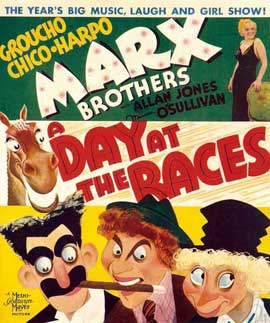 A Day at the Races - 27 x 40 Movie Poster - Style C