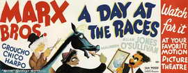 A Day at the Races - 14 x 36 Movie Poster - Insert Style A