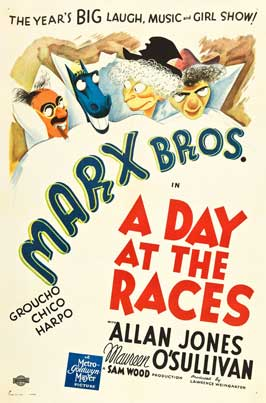 A Day at the Races - 11 x 17 Movie Poster - Style K