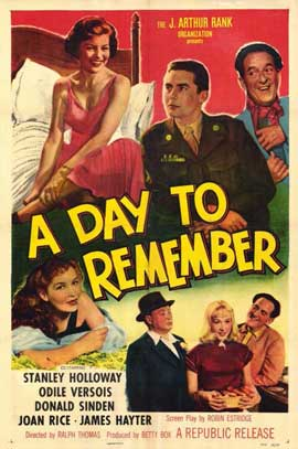 A Day to Remember - 11 x 17 Movie Poster - Style A