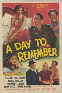 A Day to Remember - 43 x 62 Movie Poster - Bus Shelter Style A