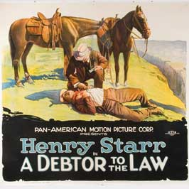 A Debtor to the Law - 11 x 17 Movie Poster - Style E
