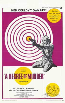 Degree of Murder - 11 x 17 Movie Poster - Style A