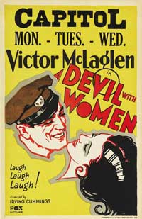 A Devil with Women - 11 x 17 Movie Poster - Style A