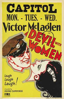 A Devil with Women - 27 x 40 Movie Poster - Style A