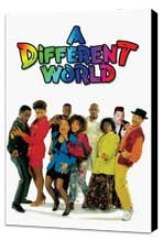 A Different World (TV) - 11 x 17 TV Poster - Style A - Museum Wrapped Canvas