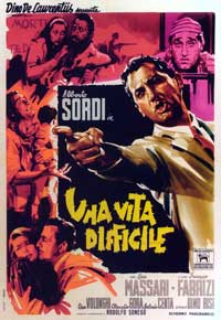 A Difficult Life - 11 x 17 Movie Poster - Italian Style A