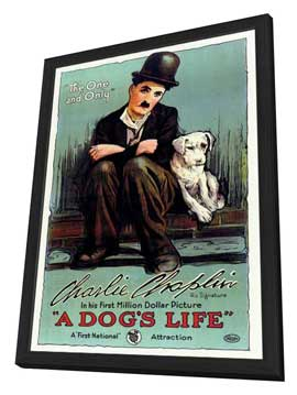 A Dog's Life - 27 x 40 Movie Poster - Style B - in Deluxe Wood Frame