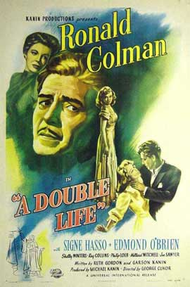 Double Life, A - 11 x 17 Movie Poster - Style A