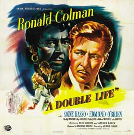 Double Life, A - 30 x 30 Movie Poster - Style A