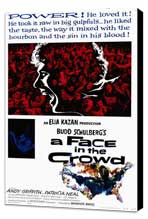 A Face in the Crowd - 27 x 40 Movie Poster - Style A - Museum Wrapped Canvas
