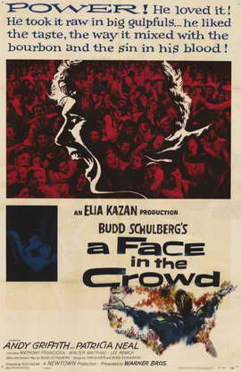 A Face in the Crowd - 11 x 17 Movie Poster - Style A